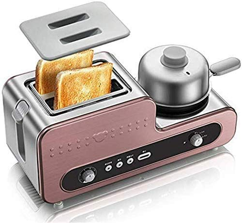 For Sale! CattleBie Breadmakers, 2 in 1 Multifunctional Breakfast Machine Toaster Oven Eggs Steamer ...