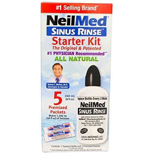 Neilmed Neilmed Sinus Rinse Starter Kit, (Pack of 3)