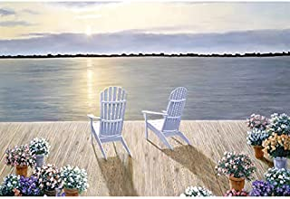 Adult Wooden Puzzle, Holiday Seaside, Leisure Life, Living Room Decoration, Couple Interaction (520-3700 Pieces), Childre...