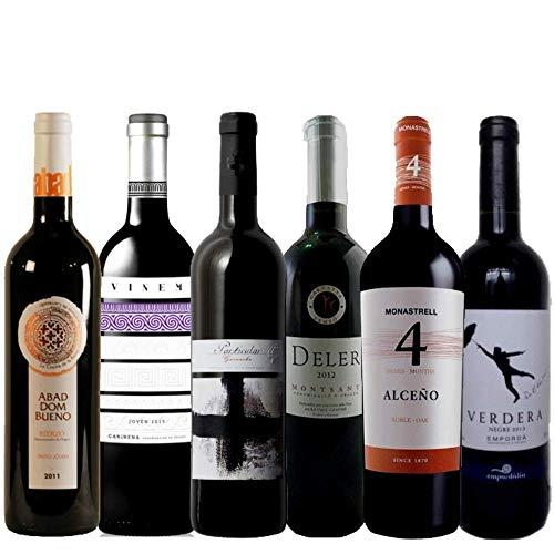 Pack de Vino Tinto | Vinos económicos y sorprendentes | Selección de vino tinto