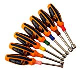 Olympia Tools Gold Series Metric Nut Driver Set 29-586, 7 Pieces