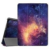 Fintie SlimShell Funda para Huawei MediaPad T3 10 - Súper Delgada y Ligera Carcasa Protectora con Función de Soporte para Huawei Mediapad T3 10 Tablet 9.6 Pulgadas IPS HD, Galaxia