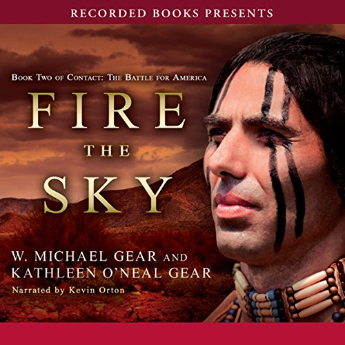 Fire the Sky audiobook cover art