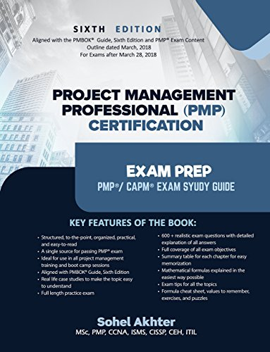 Project Management Professional Pmp Certification Exam Prep
