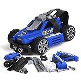 5-in-1 DIY Take Apart City Police Car Toys for 3 4 5 6