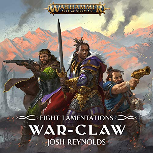 Eight Lamentations: War-Claw audiobook cover art