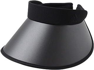 アディダス サンバイザー UPF50+ つば広 UVカット 日よけ 紫外線対策 レディース 196-311206