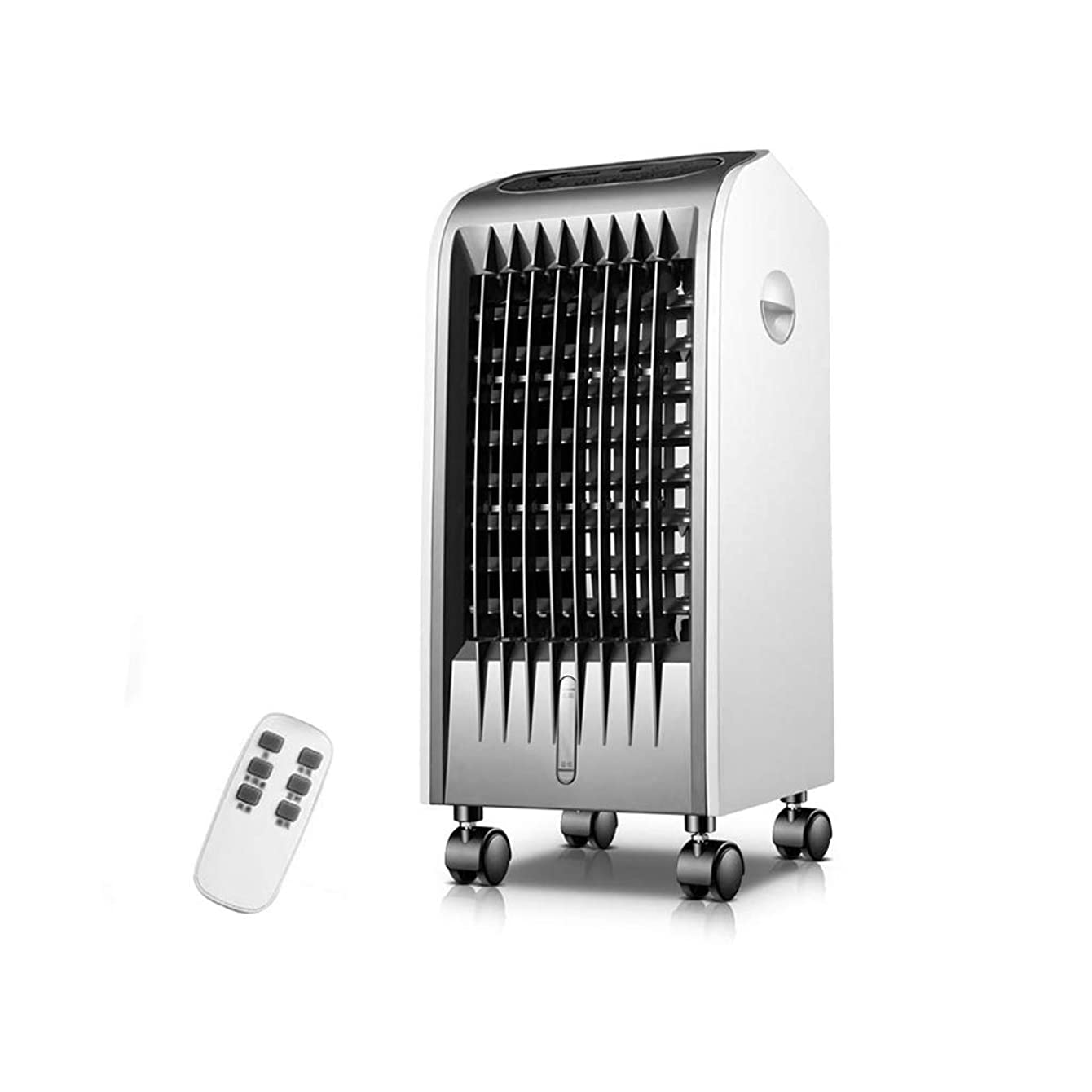 Space coolers Air Coolers Evaporative Remote Control Air Conditioner Ultra-Quiet for Bedroom Living Room White
