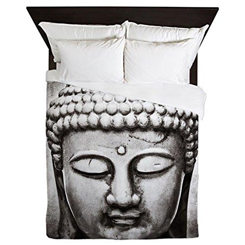 CafePress Buddha Queen Duvet Queen Duvet Cover, Printed Comforter Cover, Unique Bedding Microfiber