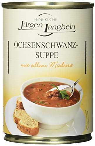 Jürgen Langbein Ochsenschwanz-Suppe, 6er Pack (6 x 400 ml)