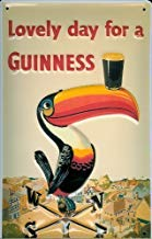 Guinness Toucan Placa de Metal Cartel de lata 20 x 30cm