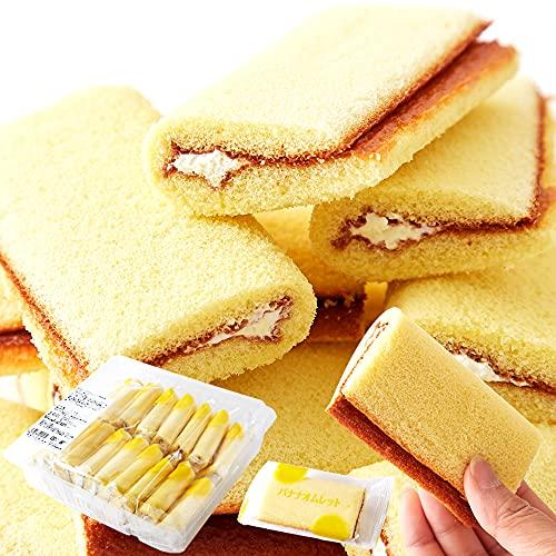 天然生活 バナナオムレット (17個) 個包装 洋菓子 スイーツ おやつ お徳用 バナナケーキ