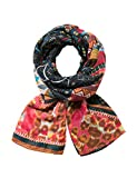 Desigual Foulard_Rectangle Misha Echarpe, Orange (Teja 7008), Unique (Taille Fabricant: U) Femme