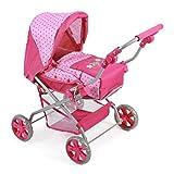 Bayer Chic 2000 557 31 - Puppenwagen Piccolina, Dots Pink