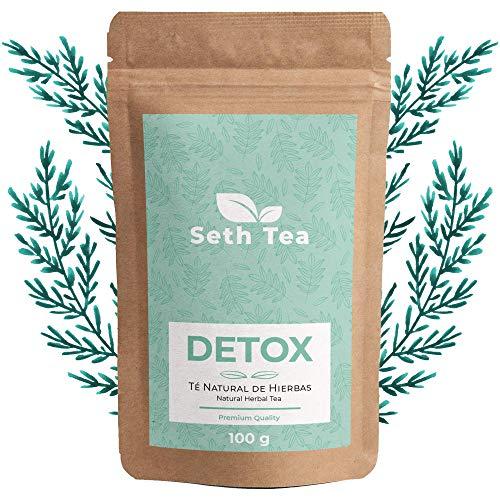 Té Detox Adelgazante Para La Retención De Líquidos | Té Diurético Natural | 100grs (60 Días) | Infusion Detox | Detox Tea | Ingredientes Premium Té Verde, Yerba Mate, Té Blanco …