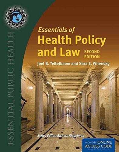 BUA- ESSEN OF HEALTH POLICY  &  LAW 2E/2016 ANNUAL UPDATE