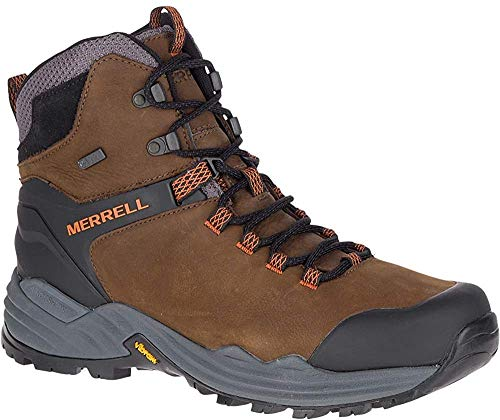 Merrell PHASERBOUND 2 Tall WP, Zapatillas para Caminar Hombre, Dark Earth, 47 1/3 EU