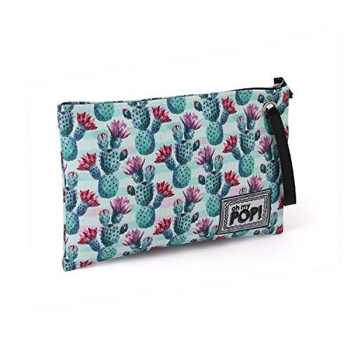 Oh My Pop! Pop! Nopal-Sunny Kulturtasche Beauty Case, 30 cm, Multicolore (Multicolour)