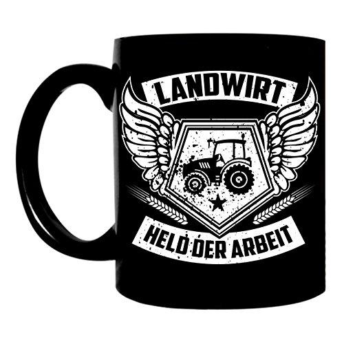 Tasse Kaffeetasse Landwirt Traktor