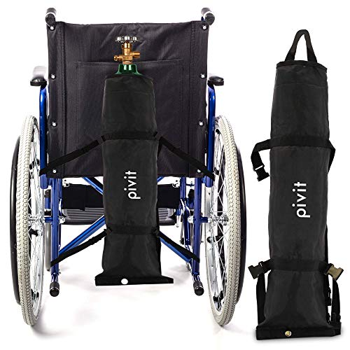 PIvit Nylon Wheelchair O2 Cylinder Holder Bag