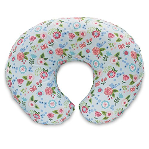 Boppy Original Nursing Pillow Cover, Fresh Flowers, Cotton...