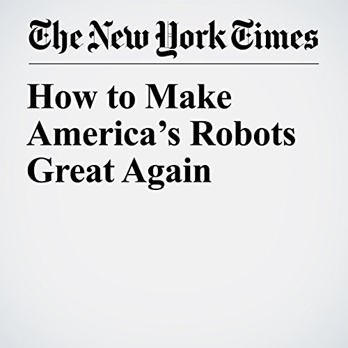 How to Make America's Robots Great Again copertina
