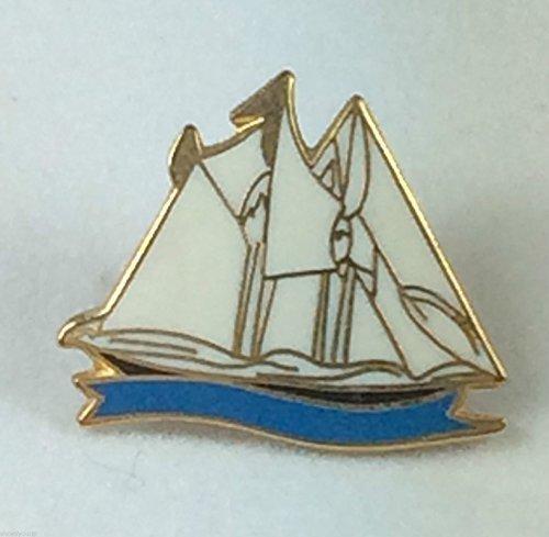 Schiff (Segeln Schiff) Yacht Nautisches Military Emaille Pin-Anstecker