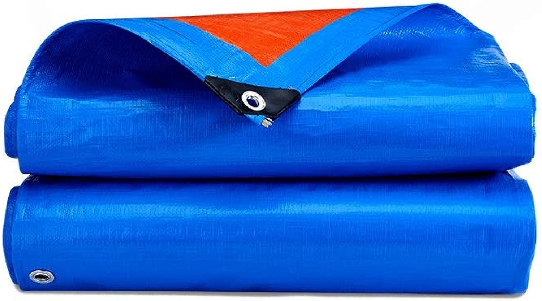 防水シート 防水シートターポリン防水アイレット厚さ0.32mmの多目的タープテント175g /㎡の軽量防水シート 透湿 防水カバー (Size : 14.7X9.7M)