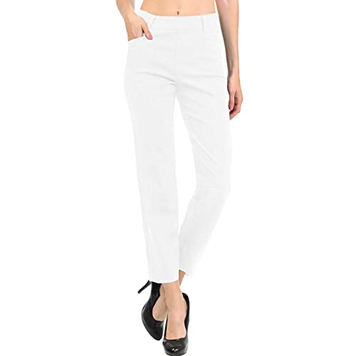 d7439a1a9 VIV Collection New Women's Straight Fit Trouser Pull-On Pants   4 Styles  Long/