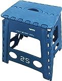 スロウワー 折りたたみチェア フォールディング スツール レズモ ブルー (使用時)幅39×奥33×高40cm、(折りたたみ時)幅39×奥4.5×高54cm SLW 001