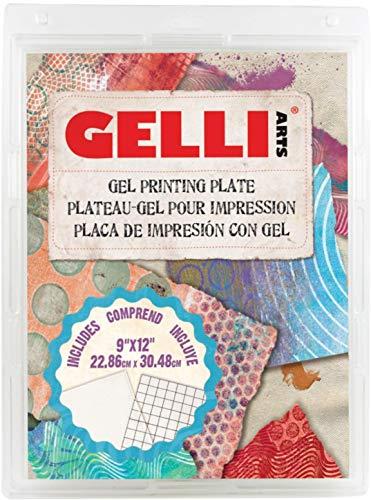 Gelli Arts GL013964721027 Gel Printing Plate, 9 inch x 12 inch