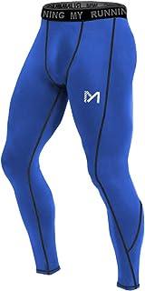 MEETYOO Leggings Hombre, Pantalón de Compresión Secado Rá