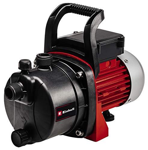 Einhell GC-GP 6538 Pompa da Giardino, 650 W, 240 V, Rosso, Portata massima: 3.800 l/h, 36.50 x 20.00 x 22.50 cm