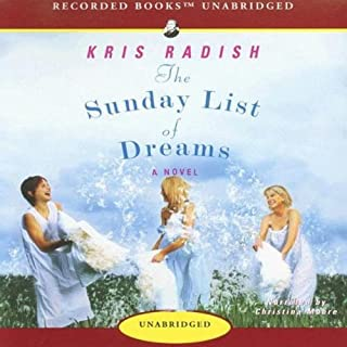 The Sunday List of Dreams     A Novel              By:                                                                                                                                 Kris Radish                               Narrated by:                                                                                                                                 Christina Moore                      Length: 10 hrs and 51 mins     30 ratings     Overall 3.7