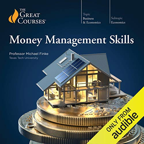 Money Management Skills audiobook cover art
