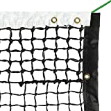 Aoneky 42' Outdoor Replacement Professional Tennis Court Net - 4...