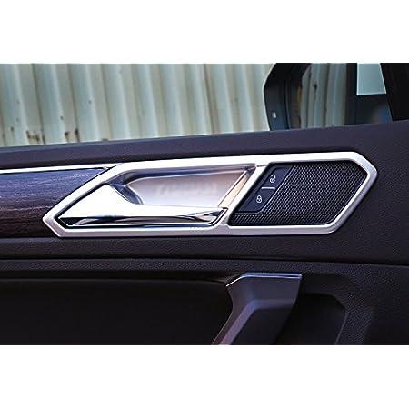High Flying Für Tiguan 2 Tiguan 2 Allspace 2016 2020 Silber Matt Interieur Türverkleidungen Dekor 5 Stück Abs Kunststoff Auto