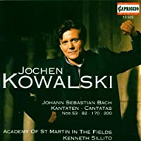 Jochen Kowlaski sings Bach Cantatas by Academy of St Martin in the Fields (2006-01-01)