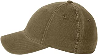 Low-Profile Soft-Structured Garment Washed Cap (Assorted Colors)