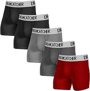 5Mayi Boxer Briefs Mens Underwear Cotton Mens Boxer Briefs Underwear for Men Pack S/M/L/XL/XXL