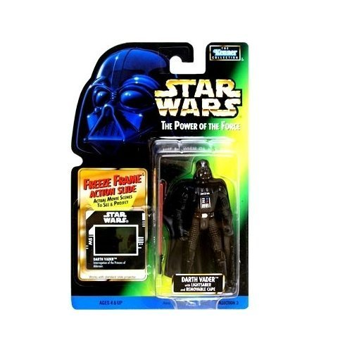 Star Wars: Power of the Force Freeze Frame Darth Vader Action Figure by Kenner (English Manual)