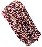 GURU SHOP Magic Hairband, Dread Wrap, Schlauchschal, Stirnband, Mütze, Herren/Damen, Loopschal Rostrot/Flieder, Baumwolle, Size:One Size, Stirnbänder Alternative Bekleidung