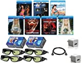 PANASONIC Compatible 3D Glasses Deluxe Movie Pack for 2011 & Prior (IR) Panasonic 3D Televisions - OUR BEST 3D VALUE EVER!
