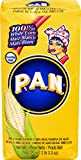 P.A.N Harina Blanca - Pre-cooked White Corn Meal 2lbs (Pack of 10)