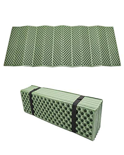 BKS Foam Egg Crate Sleeping Folding PadBackpacking Camping Mat …