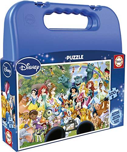 Educa Borrás Disney - Puzzle Maravilloso Mundo, 100 Piezas 16517.0