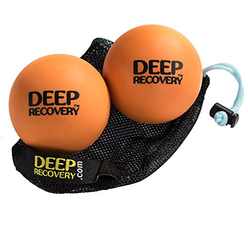 Lowest Price! Lacrosse Ball Massage Set for Myofascial Release, Mobility & Physical Therapy - Great ...