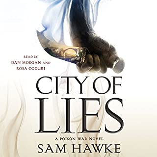 City of Lies audiobook cover art