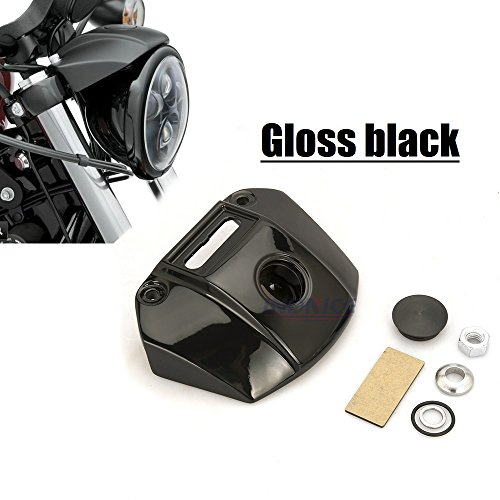 Motorcycle Headlight Mount Bracket cover Fit for harley Sportster XL 883 1200 Nights