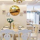 LUHUN Reloj de Pared diseño Moderno de 30 cm, Desierto de Oro en Puesta de Sol. Canarias, Canarias Reloj de Pared silencioso Digital, Utilizado en la Sala de Estar la Cocina
